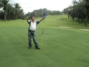 Mr. JB Lee of Mountain View Golf Resort in Penang.