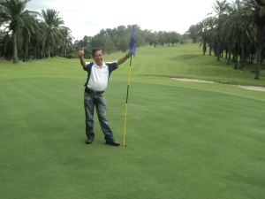Mr. JB Lee of Mountain View Golf Resort in Penang.