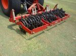 Slicing will help with aeration and water penetration.
