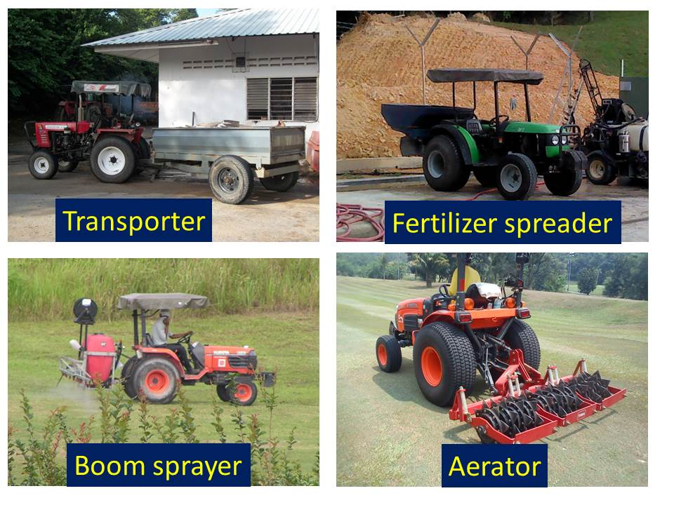 Not just machinery, but fertilisers and chemicals too.