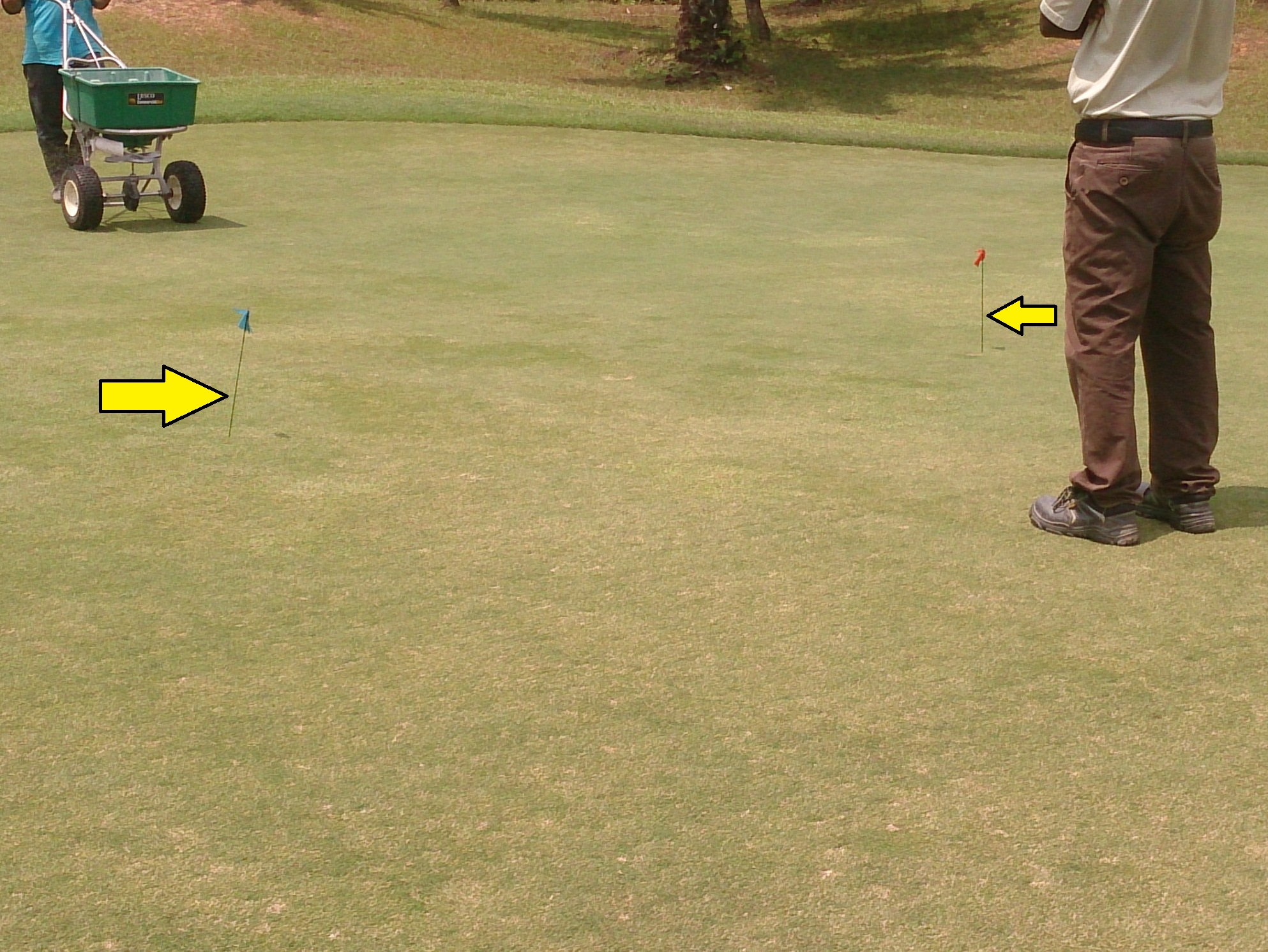 fertiliser spreader mark