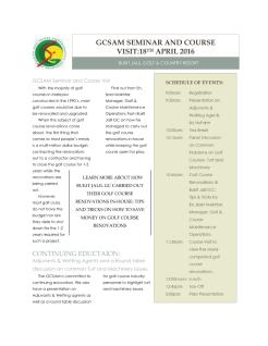 GCSAM April 2016 1