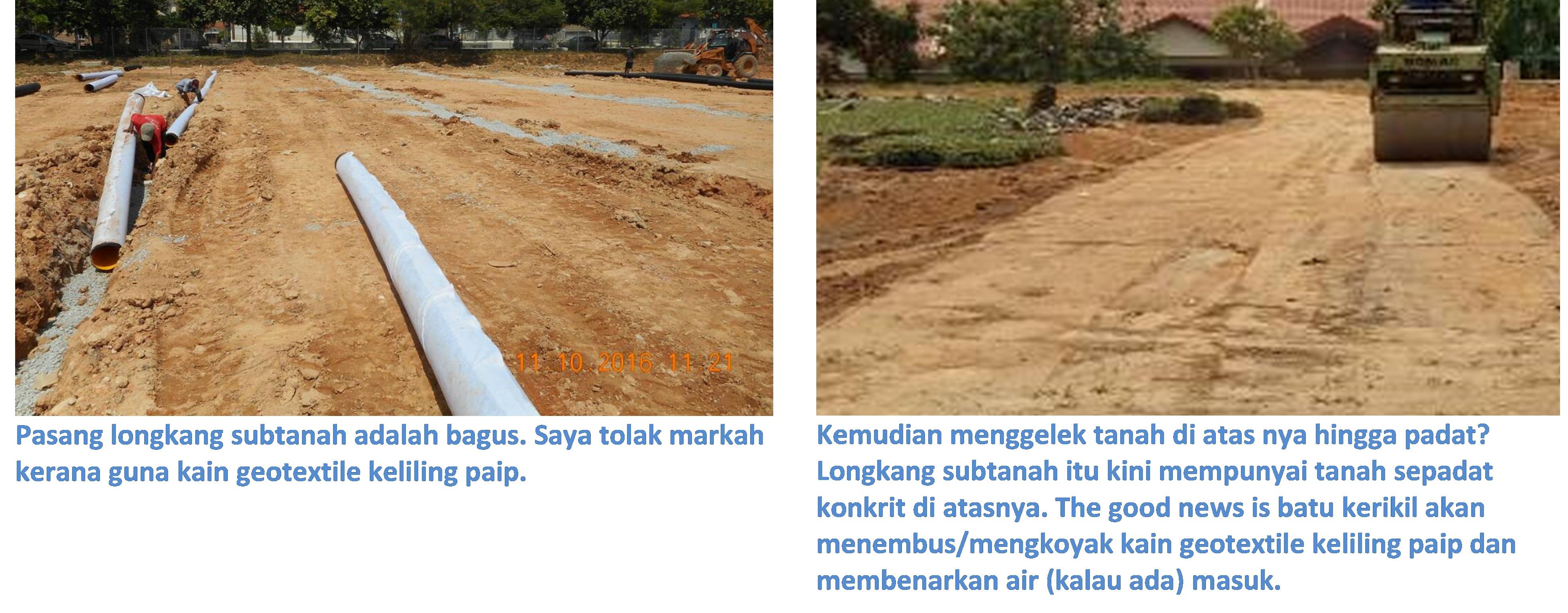 roll atas subsoil