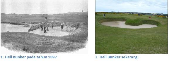 Hell Bunker dulu dan now