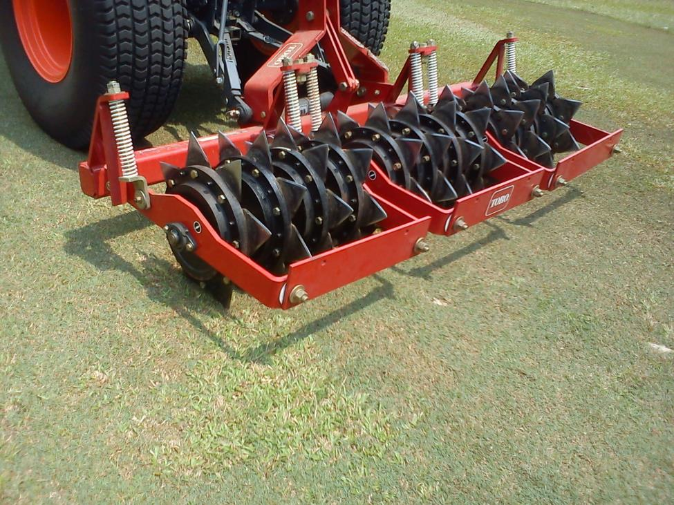 fairway slicer spiker aerator