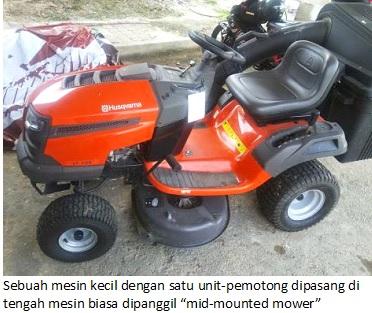 mid mounted mower