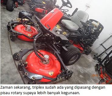 triplex rotary